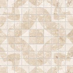 Vie Della Mosaico Decorato Avorio | Ceramic mosaics | EMILGROUP