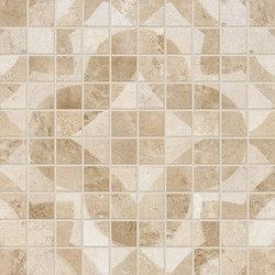 Vie Della Mosaico Decorato Dorato | Mosaïques céramique | EMILGROUP