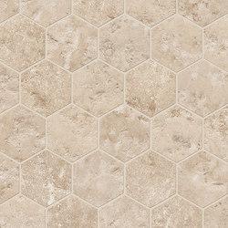 Vie Della Esagona Claudia Dorato | Mosaici ceramica | EMILGROUP