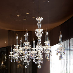 Balance 8 | Ceiling suspended chandeliers | Windfall