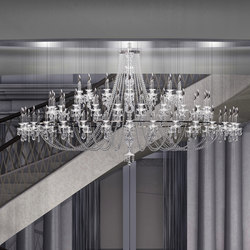 Frenchy Balance Bespoke Staircase | Chandeliers | Windfall