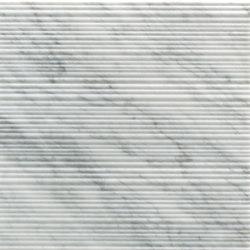 Bamboo Bianco Carrara | Lastre pietra naturale | Salvatori