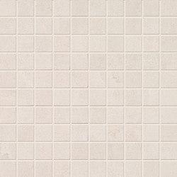 Stone Box Mosaico Sugar White | Ceramic mosaics | EMILGROUP