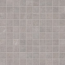 Stone Box Mosaico Bright Grey | Ceramic mosaics | EMILGROUP