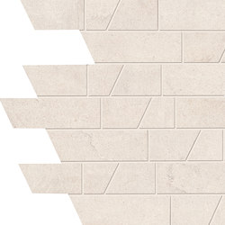 Stone Box Muretto Sugar White | Ceramic mosaics | EMILGROUP