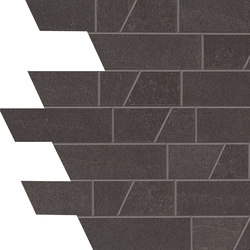 Stone Box Muretto Black Ink | Ceramic mosaics | EMILGROUP