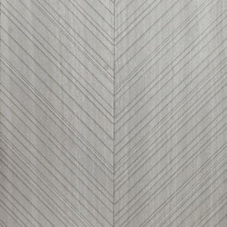 Chevron | Silk Georgette | Natural stone panels | Salvatori