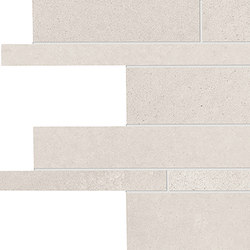Tr3nd Listelli sfalsati White | Mosaici | EMILGROUP