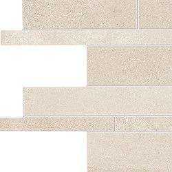 Tr3nd Listelli sfalsati Ivory | Ceramic mosaics | EMILGROUP