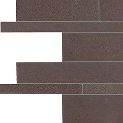 Tr3nd Listelli sfalsati Brown | Mosaïques céramique | EMILGROUP