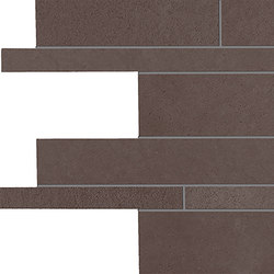 Tr3nd Listelli sfalsati Brown | Keramik Mosaike | EMILGROUP