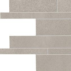 Tr3nd Listelli sfalsati Grey | Mosaicos | EMILGROUP
