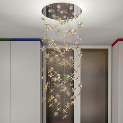 Flower 114 | Ceiling suspended chandeliers | Windfall