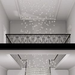 Flower Bespoke Staircase | Lüster/Kronleuchter | Windfall
