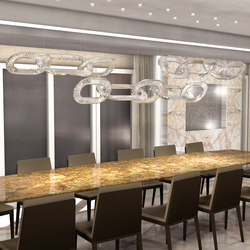 Jewel 4 Bespoke Dining | Suspended lights | Windfall