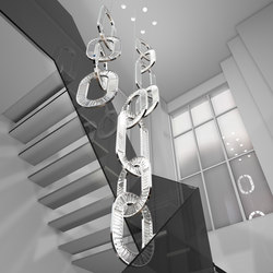 Jewel Four Bespoke Staircase | General lighting | Windfall