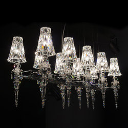 Lula 10 square | Chandeliers | Windfall