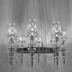 Lula 8 round | Chandeliers | Windfall