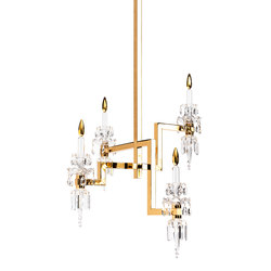 Sissi Chandelier | Ceiling suspended chandeliers | Windfall
