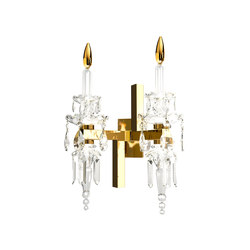 Sissi Chandelier Wall Light Double | Appliques murales | Windfall