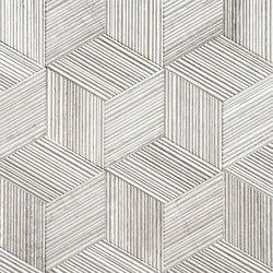 Romboo Silk Georgette | Tiles | Salvatori
