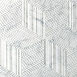 Romboo Bianco Carrara | Tiles | Salvatori