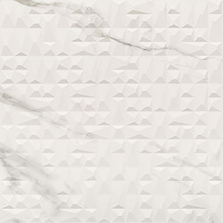 Bianco D'Italia Decoro Diamante Arabescato | Tiles | EMILGROUP
