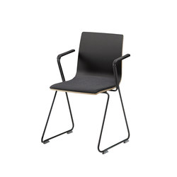 Rudolf | loop legs with armrest | Sièges visiteurs / d'appoint | Isku
