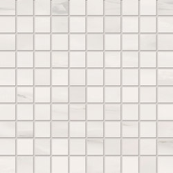 Bianco D'Italia Mosaico 3x3 Statuario | Keramik Mosaike | EMILGROUP