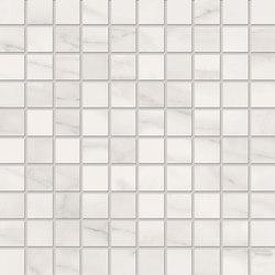 Bianco D'Italia Mosaico 3x3 Calacatta | Ceramic mosaics | EMILGROUP