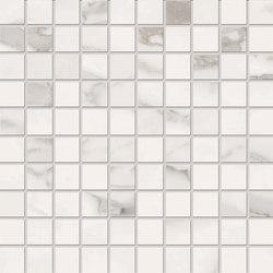 Bianco D'Italia Mosaico 3x3 Arabescato | Ceramic mosaics | EMILGROUP