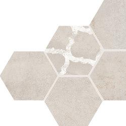 Inessence Esagona Sabbia | Ceramic mosaics | EMILGROUP