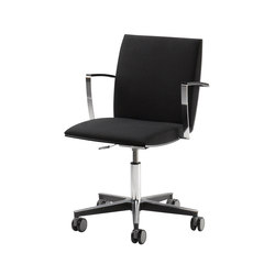 Versio | chair with cross base | Task chairs | Isku