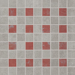 Nr. 21 Mosaicocolors Grey-Red | Ceramic mosaics | EMILGROUP