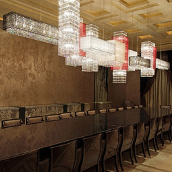 Scarlett Bespoke Dining | Suspended lights | Windfall