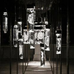 Serene Double Prism Suspension | Suspended lights | Windfall