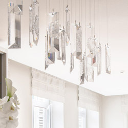 Serene Single Prism Suspension | Suspended lights | Windfall