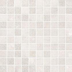 Statale 9 Mosaico Bianco Calce | Ceramic mosaics | EMILGROUP