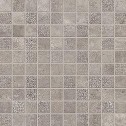 Statale 9 Mosaico Grigio Cemento | Ceramic mosaics | EMILGROUP