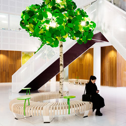 Leaf Lamp Color Tree | Standleuchten | Green Furniture Concept