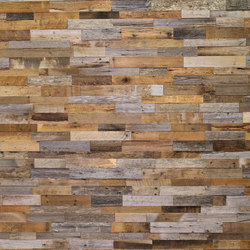 Interlock Reclaimed Barnwood Eco-Panels | Paneles murales | Architectural Systems