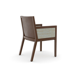 Edge Side Chair, Closed Arm / Closed Back | Besucherstühle | Trinity Furniture