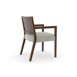 Edge Side Chair, Open Arm / Open Back | Besucherstühle | Trinity Furniture