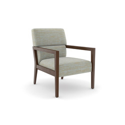 Edge Lounge Chair, Open Arm | Lounge chairs | Trinity Furniture