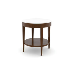 Edge Table, Round Occasional Table / Corian Face | Side tables | Trinity Furniture