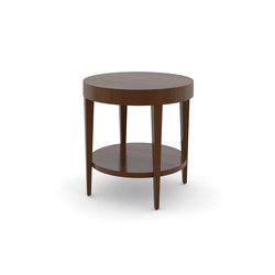 Edge Table, Round Occasional Table / Veneer Face | Mesas auxiliares | Trinity Furniture