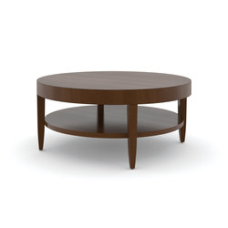 Edge Table, Round Coffee Table / Veneer Face | Lounge tables | Trinity Furniture