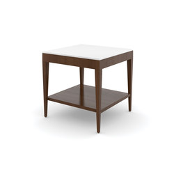 Edge Table, Square Occasional Table / Corian Face | Side tables | Trinity Furniture