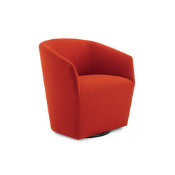 Swerve Lounge Chair / Self-Return 360˚ Swivel Base | Lounge chairs | Trinity Furniture