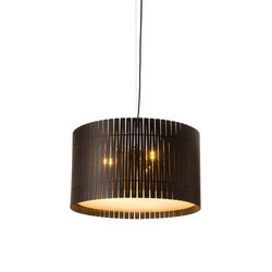 Kerflight D6 Drum Pendant Espresso | Suspensions | Graypants